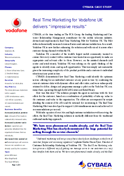 vodafone case essay The vodafone case we start of with making the calculations for the premium that vodafone is going to pay for mannesmann case study essay.
