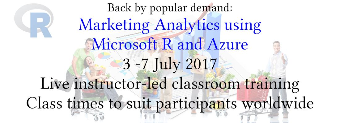 [Marketing Analytics using Microsoft R and Azure]